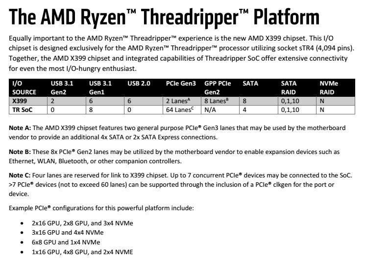Amd X399 Tr4 Threadripper Motherboard Buyer S Guide Tweaktown
