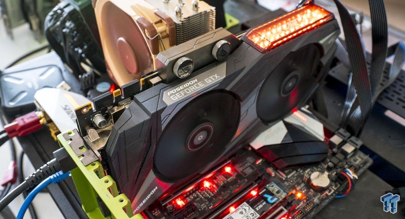 ASUS ROG Poseidon GeForce GTX 1080 Ti Platinum Review