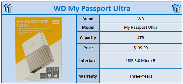 WD My Passport Ultra 4TB Review