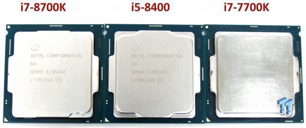 Intel Core i7-8700K and i5-8400 Coffee Lake CPU Review