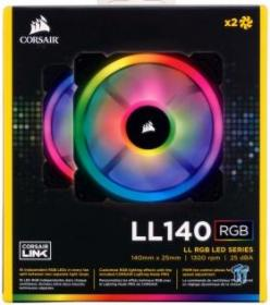 Corsair LL140 Dual Light Loop RGB LED Fan Kit Review