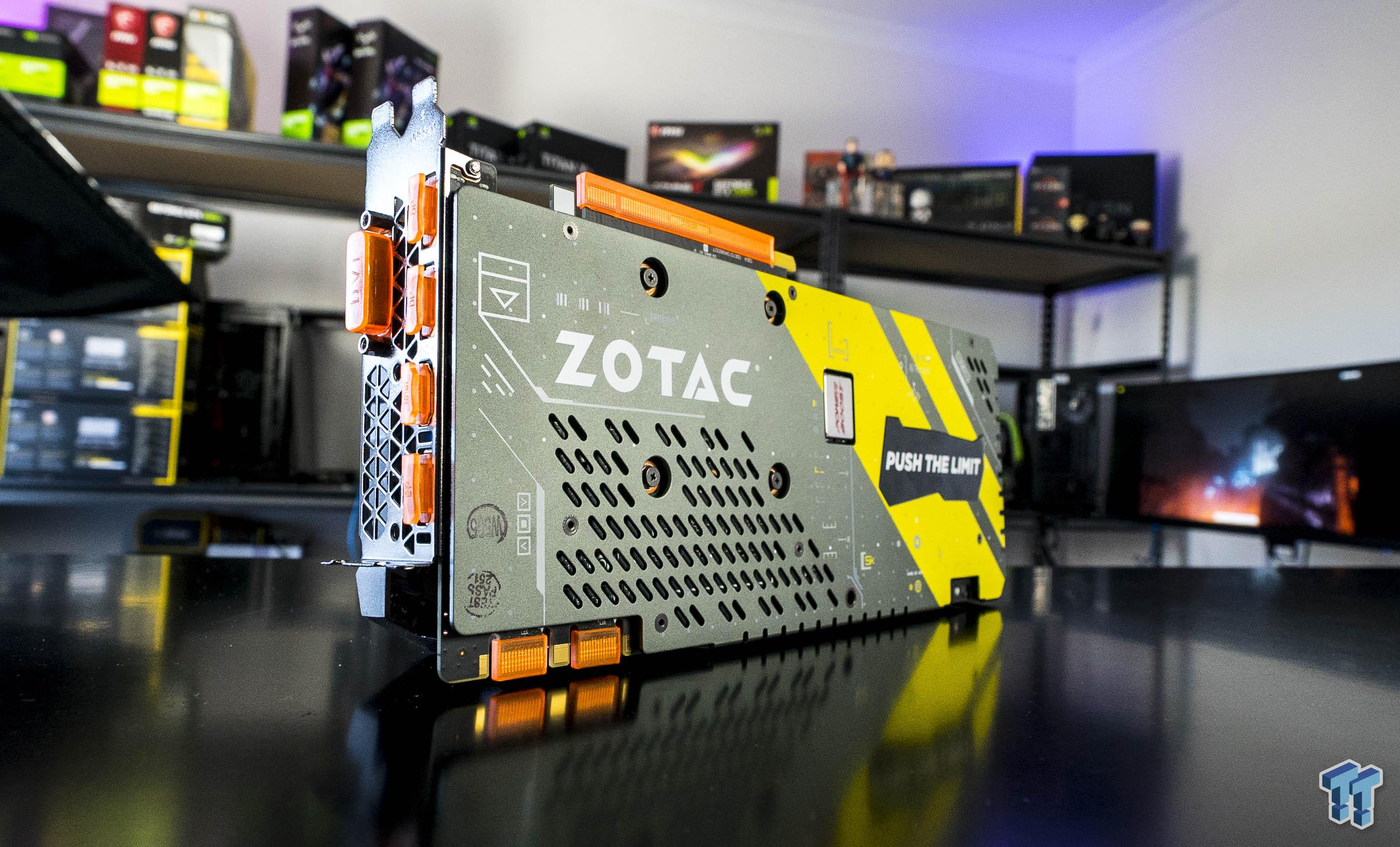 ZOTAC GeForce GTX 1070 Ti AMP! Extreme Graphics Card Review