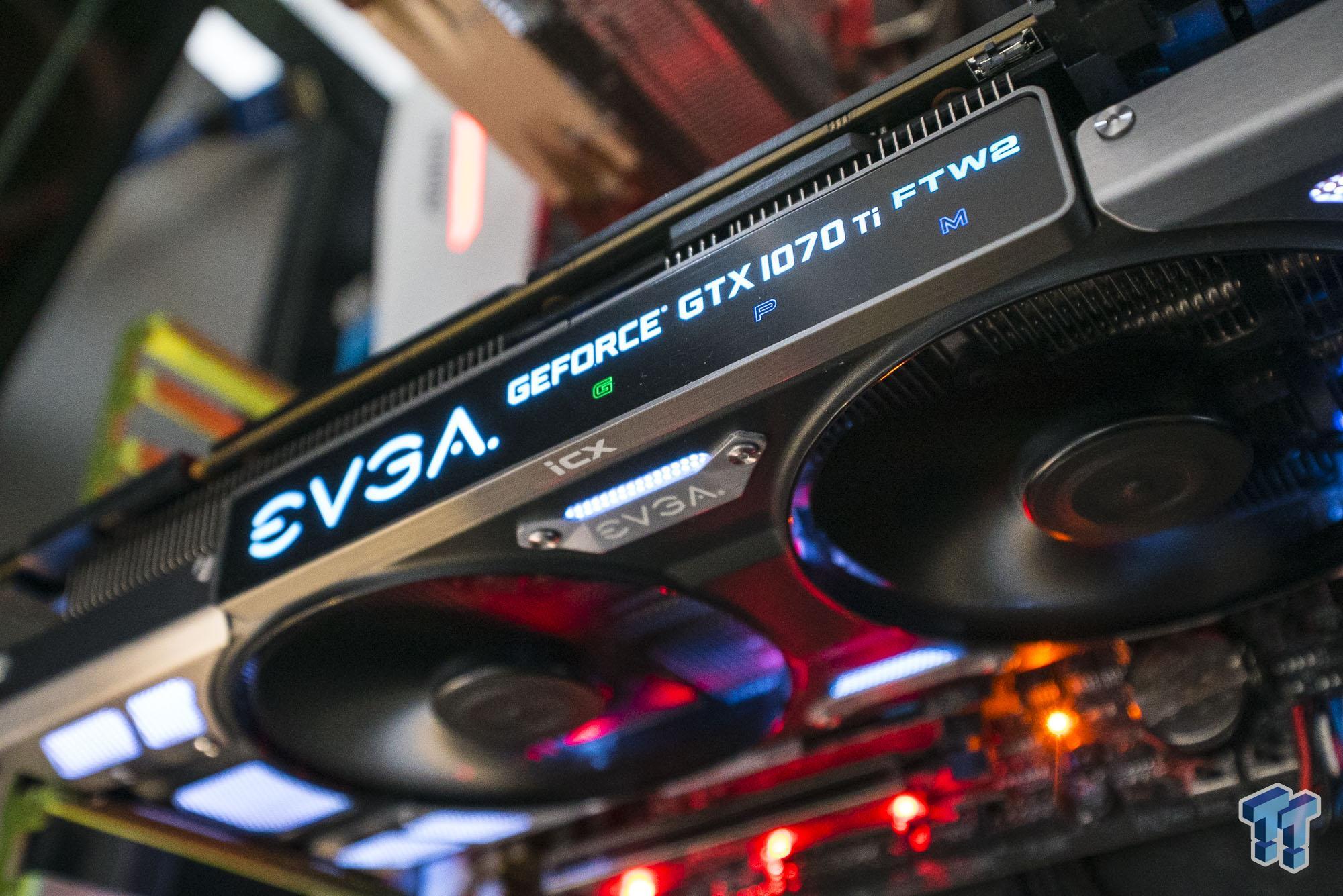 EVGA GeForce GTX 1070 Ti FTW2 Graphics Card Review
