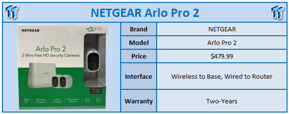 NETGEAR Arlo Pro 2 Wireless 1080p Security Camera Review