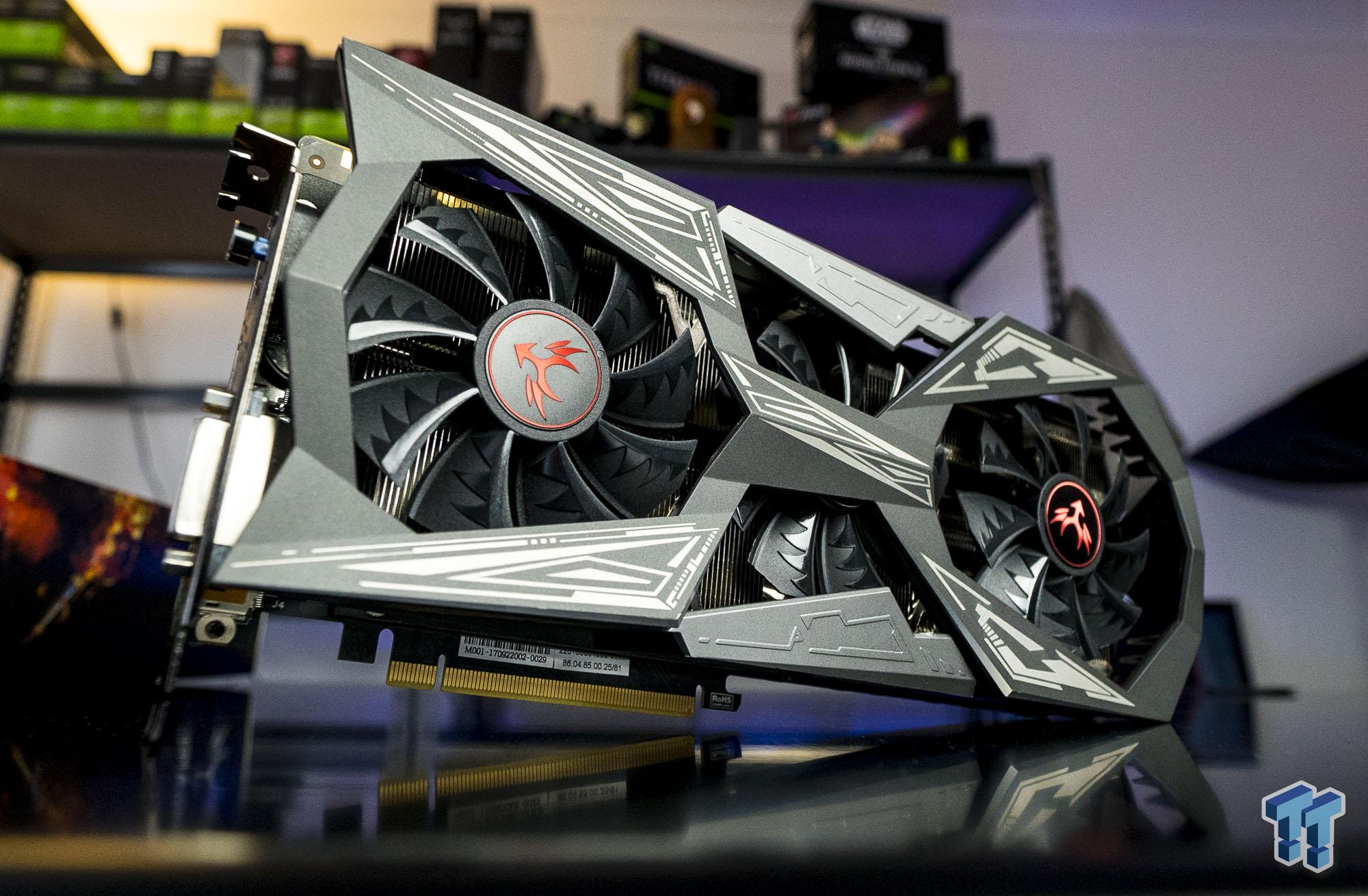 COLORFUL iGame GTX 1070 Ti Vulcan X Top Review & GIVEAWAY!