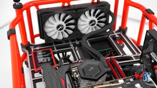 AeroCool P7-L240 RGB CPU Liquid Cooler Review