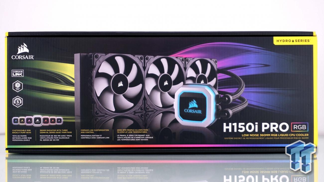 Corsair H150i PRO RGB CPU Cooler Review