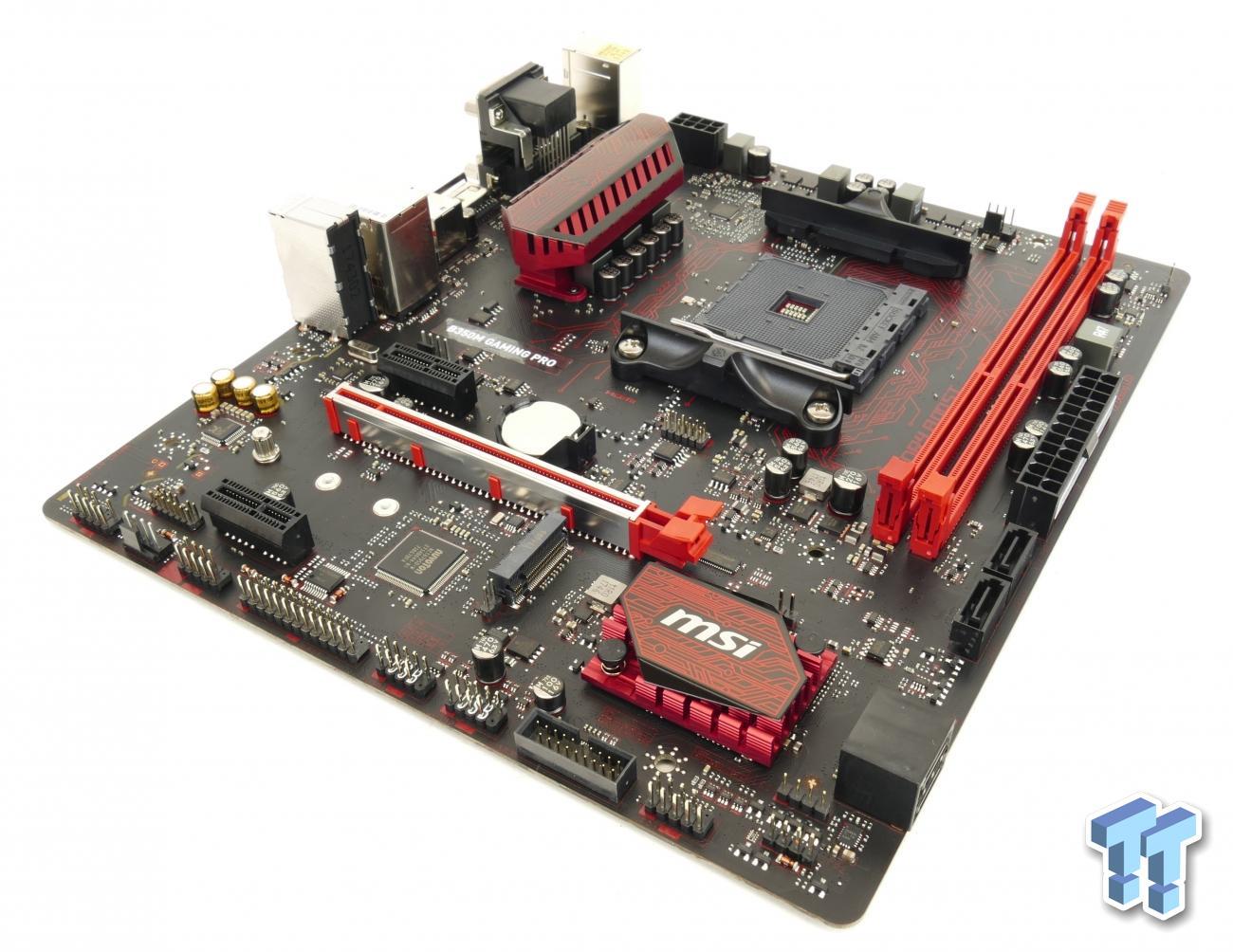 MSI B350M Gaming Pro (AMD B350) Motherboard Review