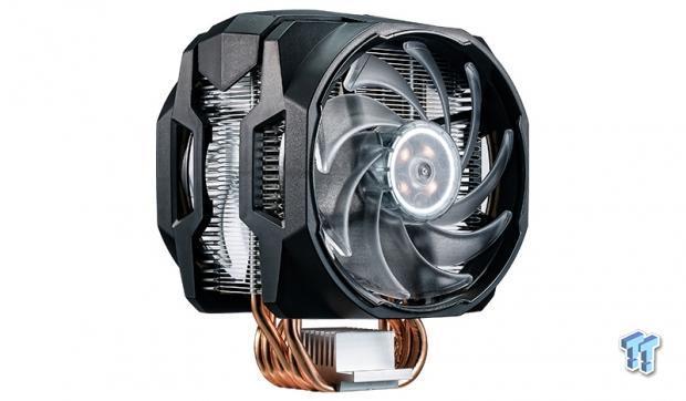 Cooler Master MASTERAIR MA610P CPU Cooler Review