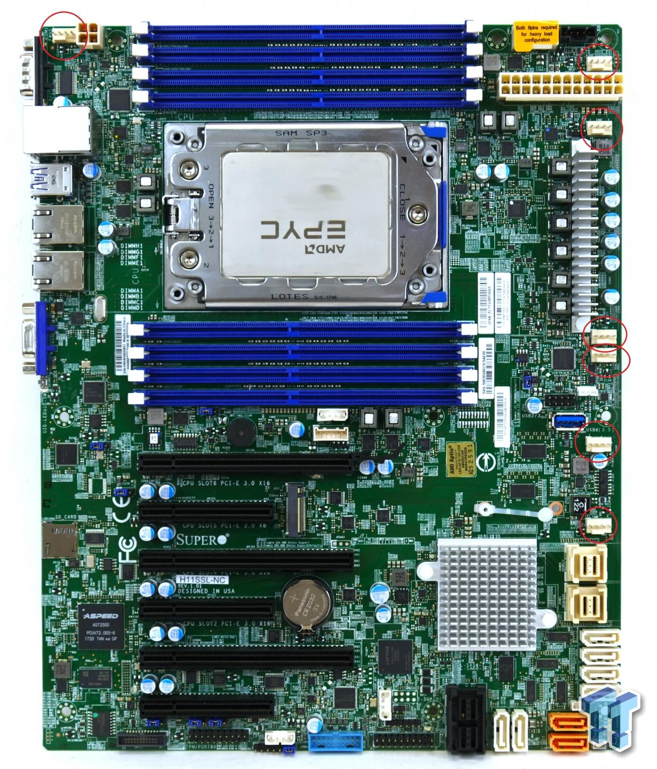 Supermicro H11SSL-NC Server Motherboard Review