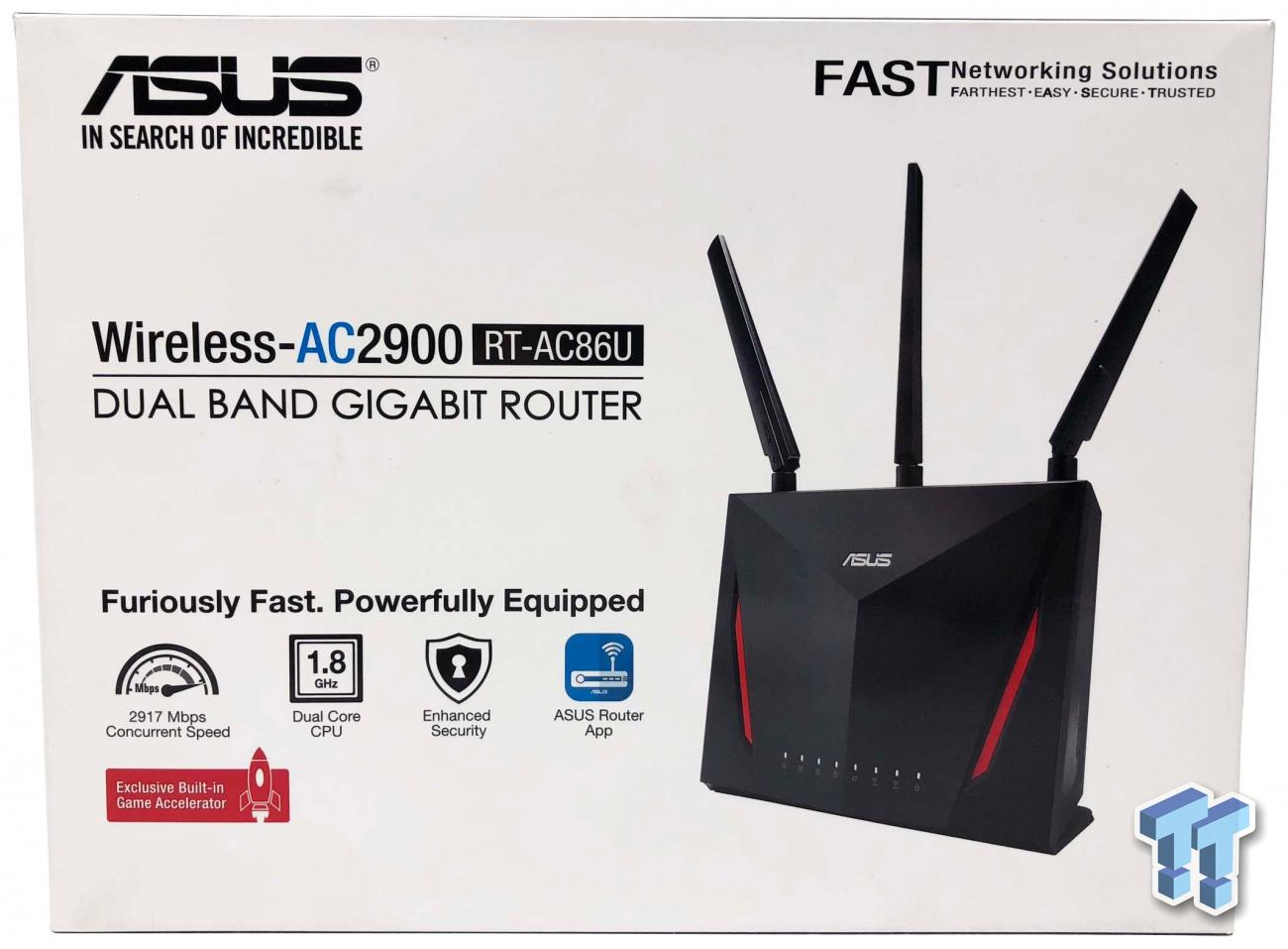 ASUS RT-AC86U AC2900 Wi-Fi Router Review