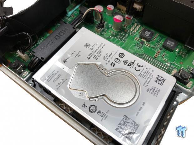 Xbox One X Tear Down - Storage Upgrade