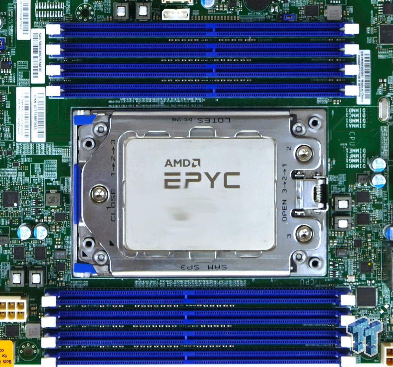 AMD EPYC 7401 Consumer Tested