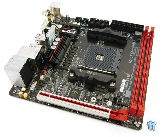 GIGABYTE AB350N-Gaming WIFI (AMD B350) Motherboard Review