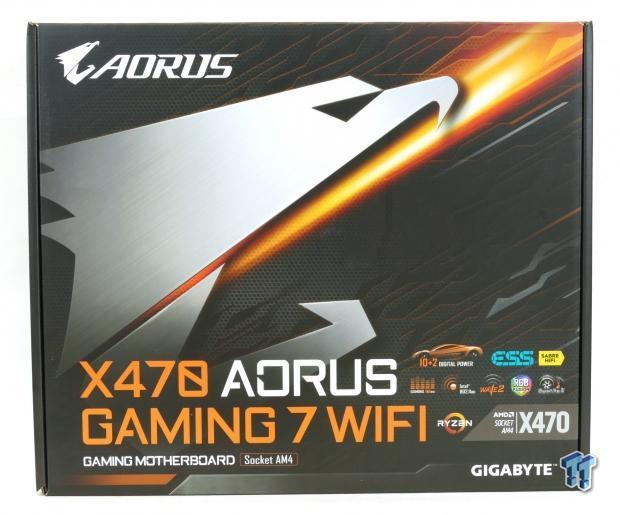 GIGABYTE X470 Aorus Gaming 7 WIFI Motherboard Review