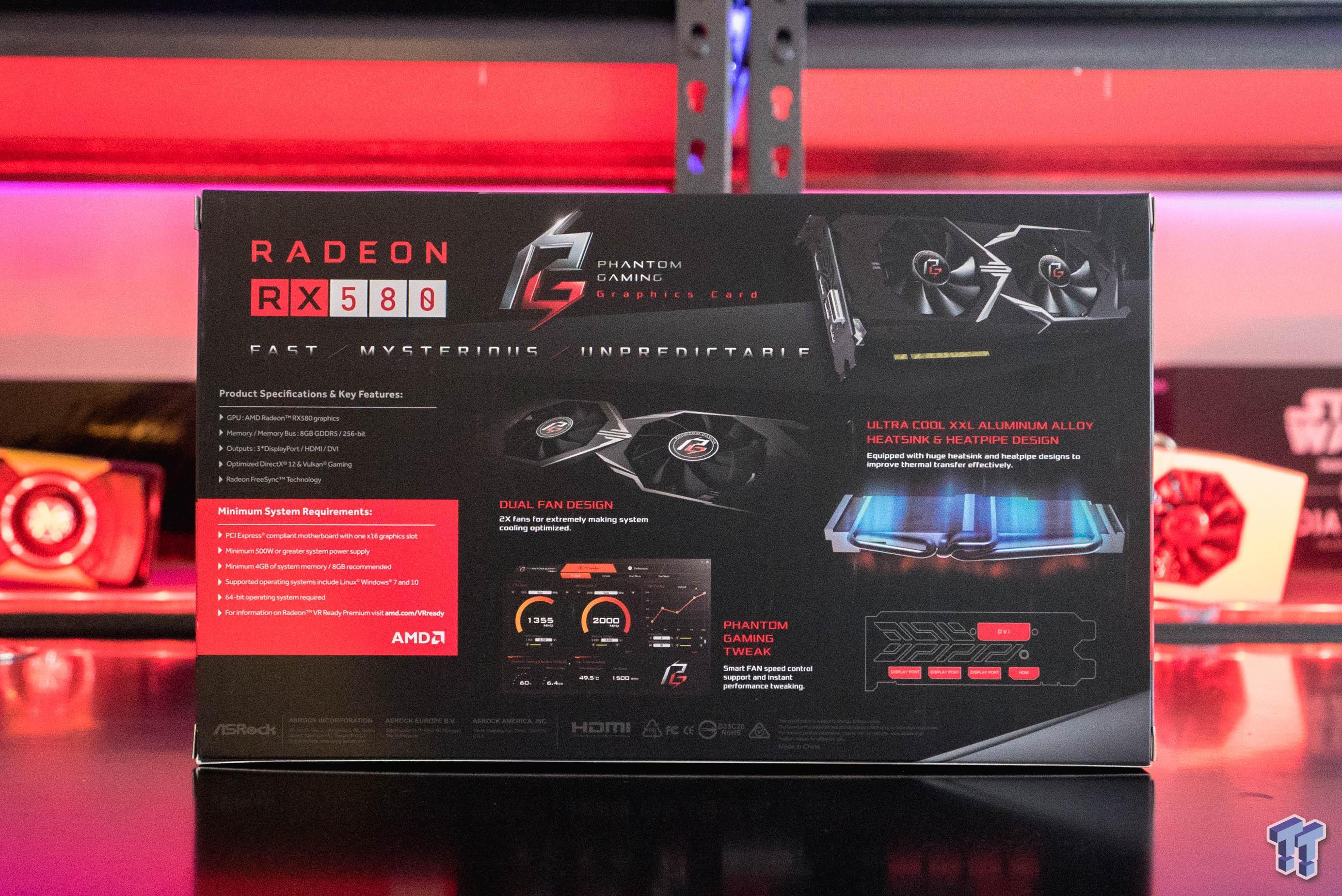 ASRock Radeon RX 580 Phantom Gaming X: World First Look!