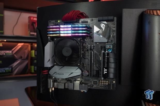 ASUS Garage Mod AIO Gaming Rig: 8700K + TITAN X + 3440x1440