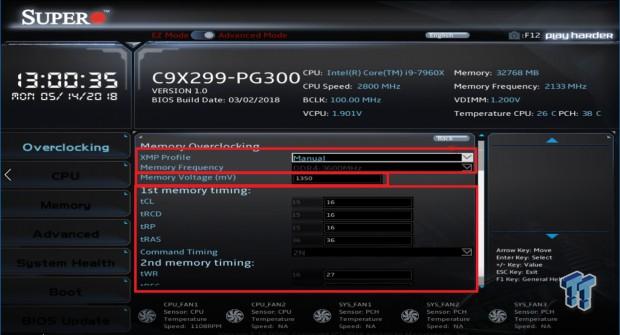 Supermicro X299 Overclocking Guide