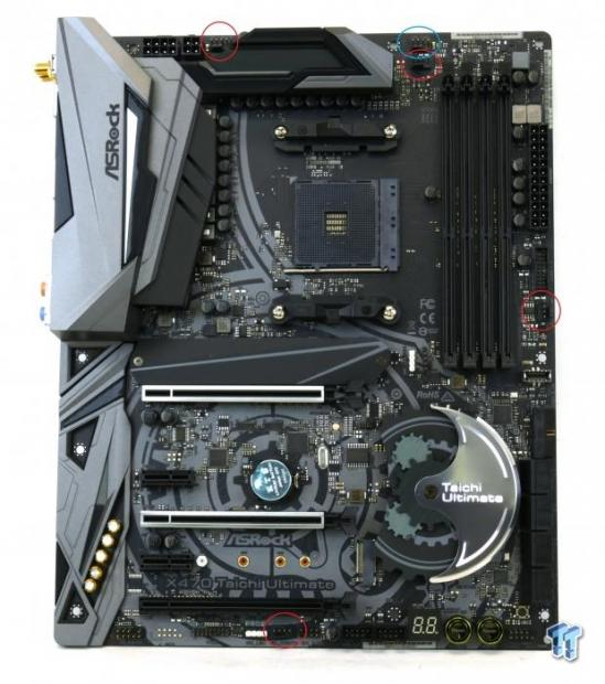 ASRock X470 Taichi Ultimate (AMD X470) Motherboard Review