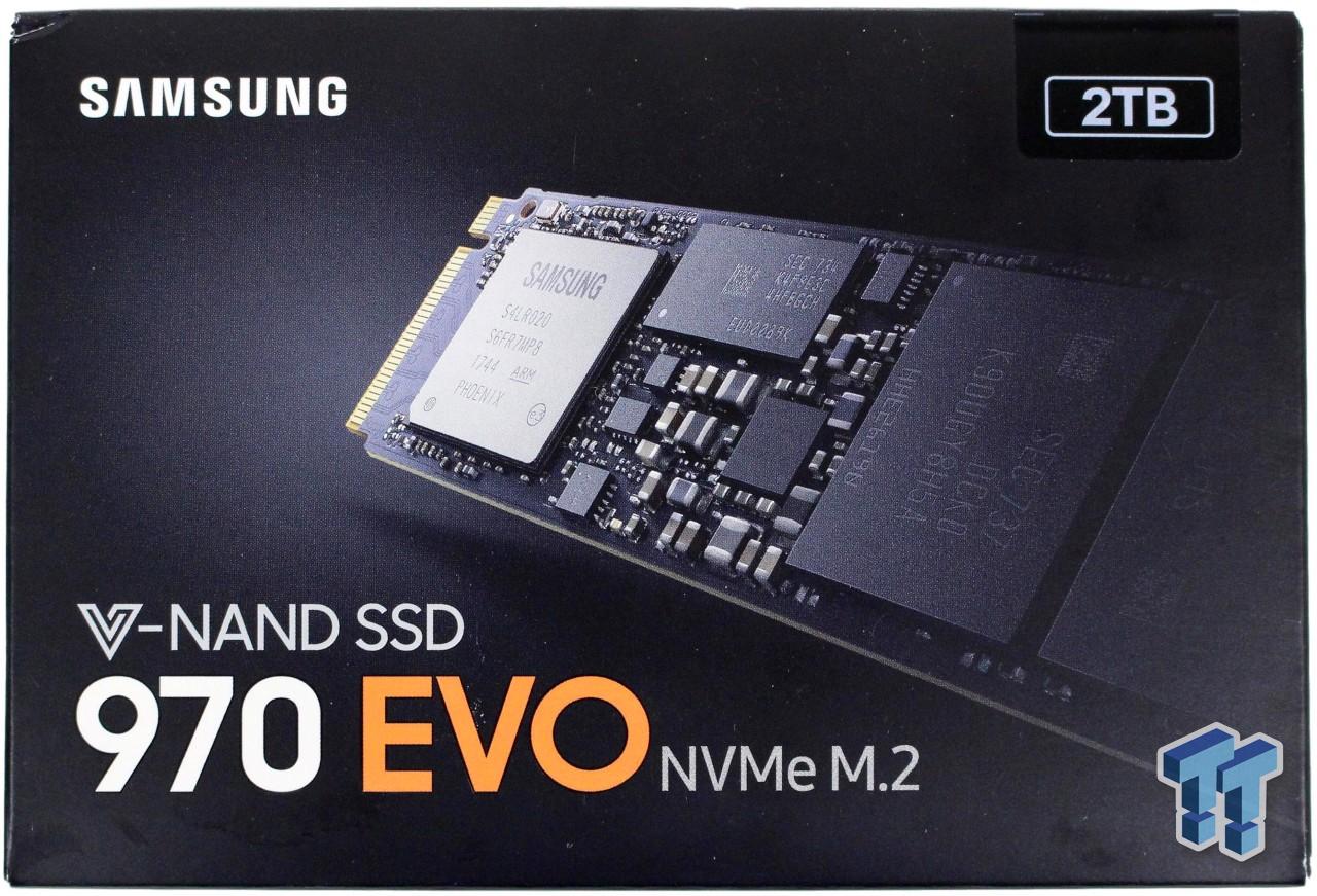 Samsung 970 EVO 2TB M 2 NVMe PCIe SSD Review