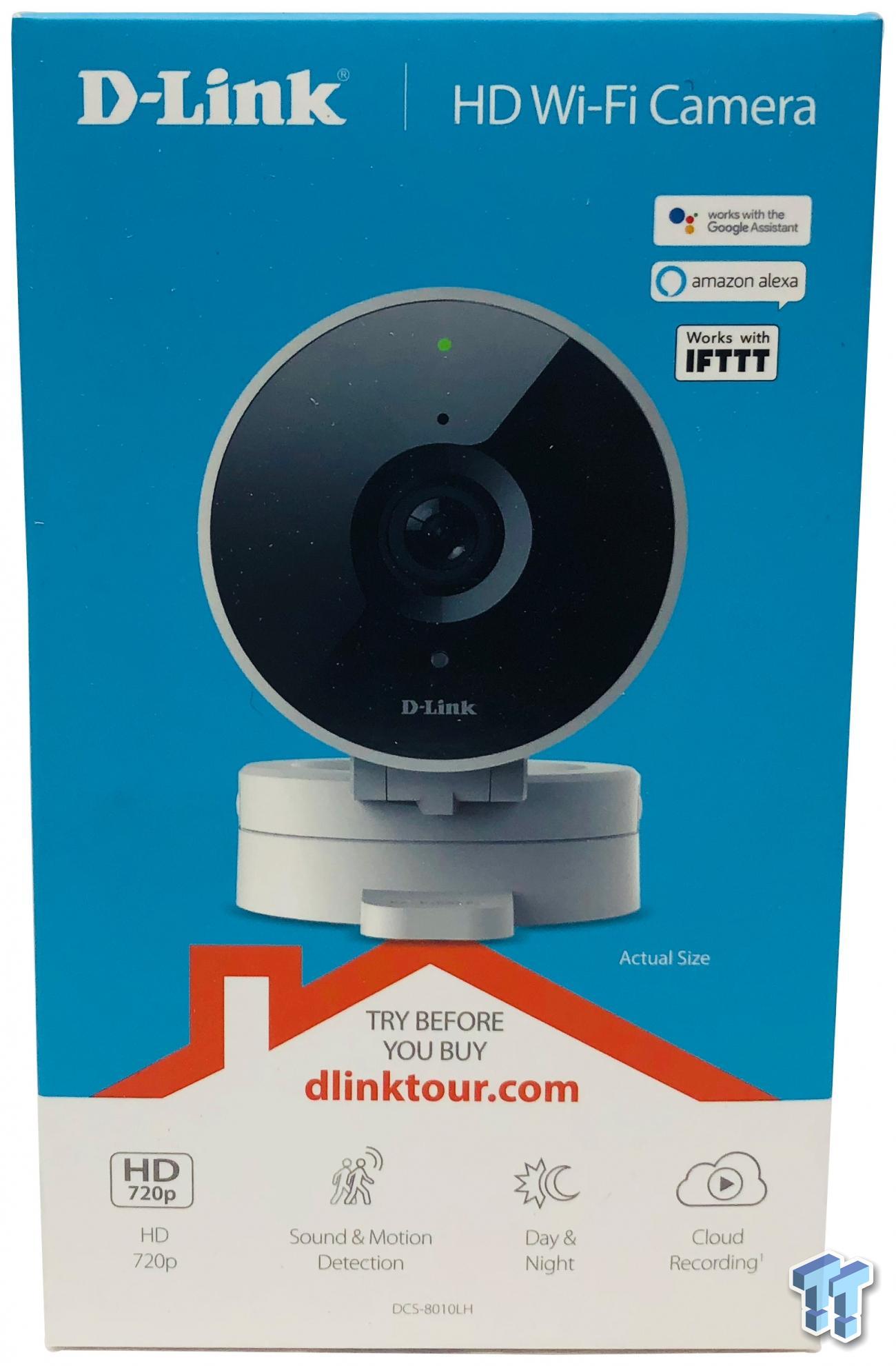 DLink HD Wi-Fi Camera 8010LH Review