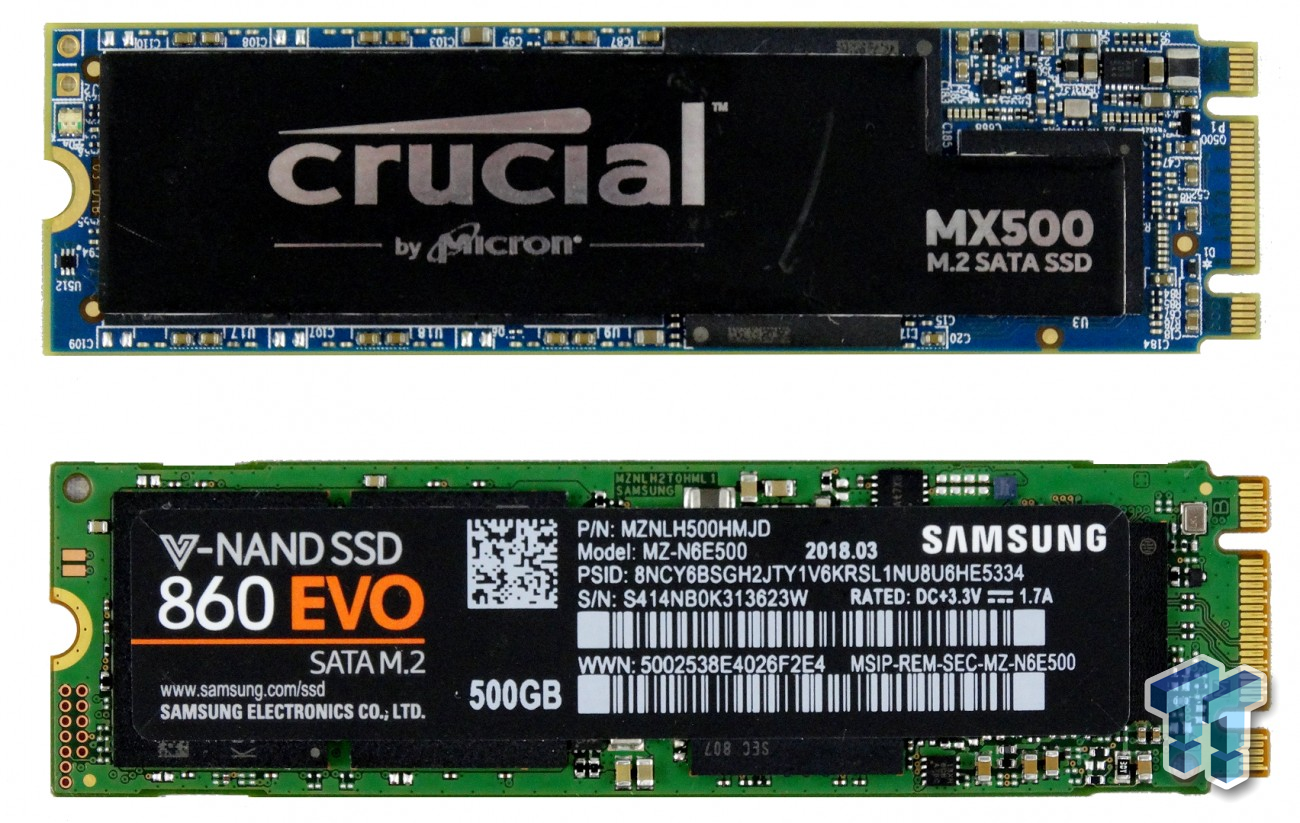 Best M 2 SATA SSD - Samsung 860 EVO or Crucial MX500