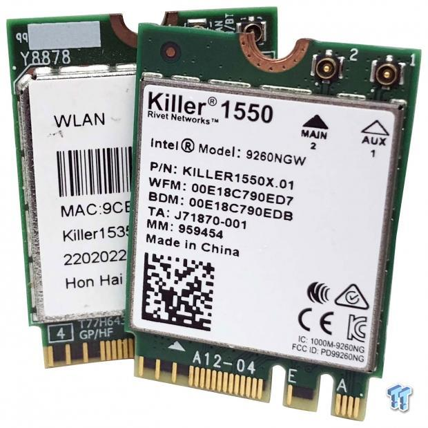 Rivet Networks Killer 1550 Wireless NIC Review
