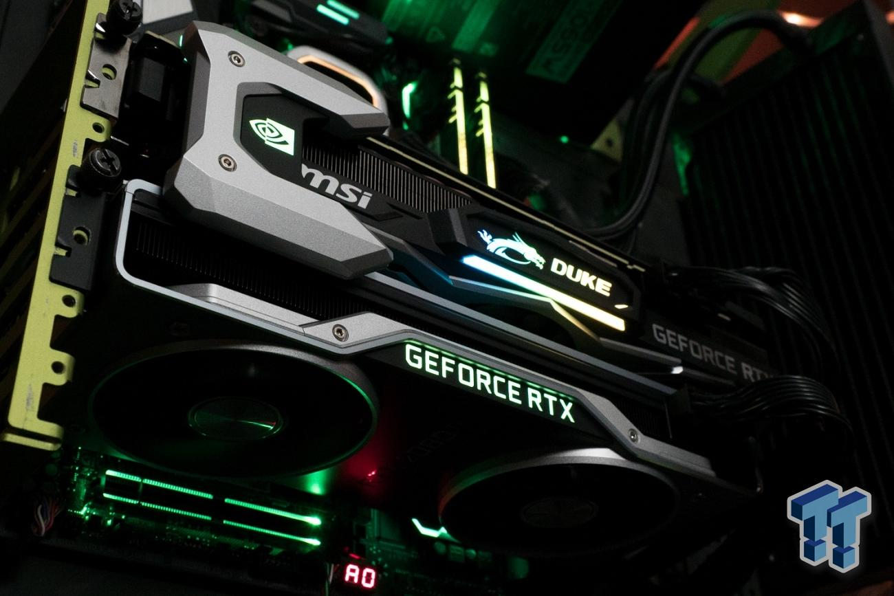 GeForce RTX 2080 Ti in NVLink: 8K 60FPS Gaming Now A Reality