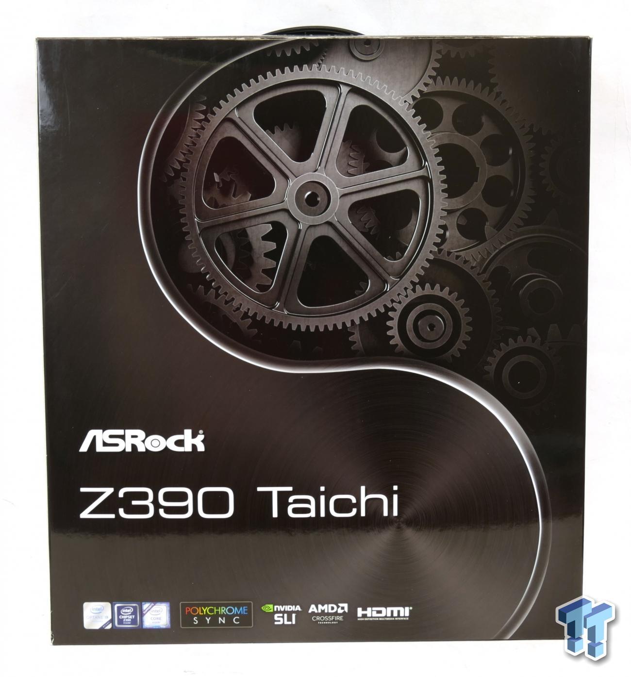 ASRock Z390 Taichi (Intel Z390) Motherboard Preview