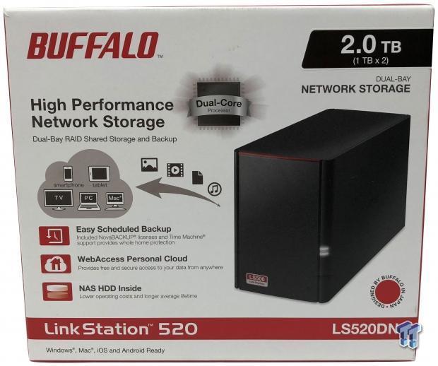 Buffalo Linkstation 520 2-Bay NAS Review