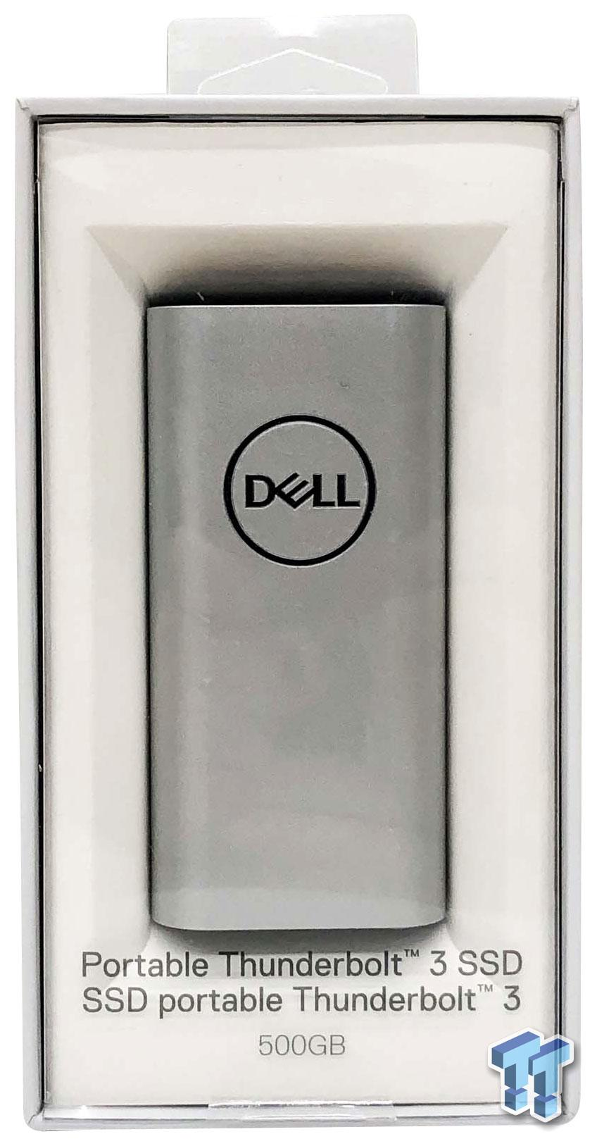 Dell Portable Thunderbolt 3 SSD Review