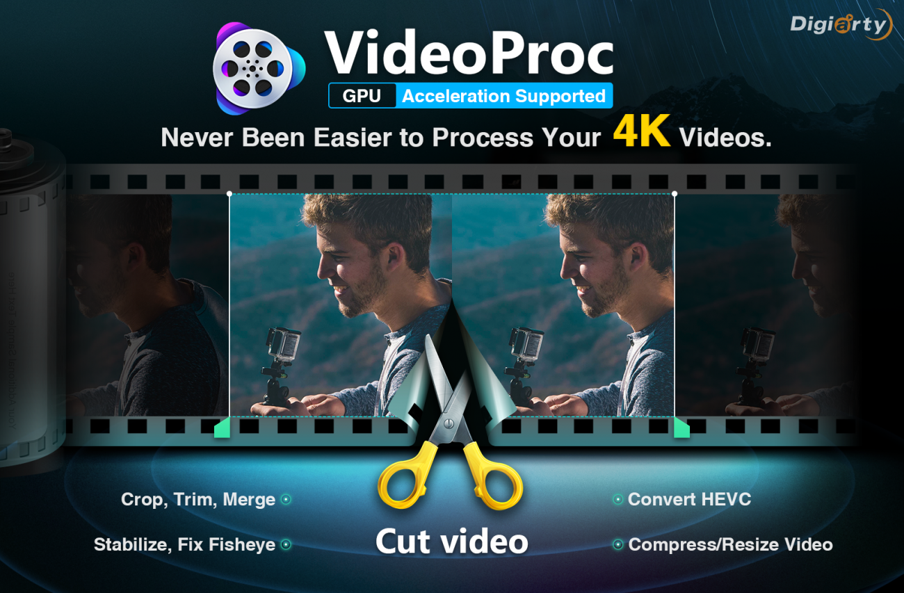 Top 4K Video Editor: Process GoPro 4K Footage with VideoProc
