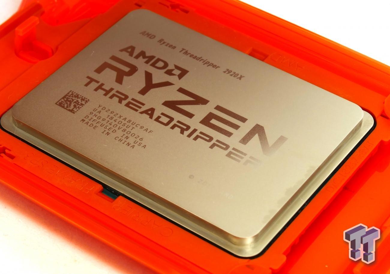 AMD Ryzen Threadripper 2970WX and 2920X Review