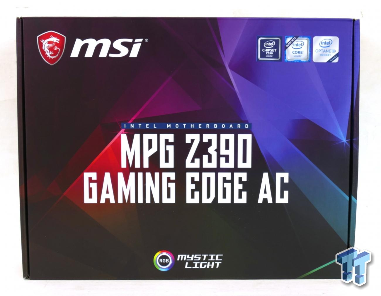 MSI Z390 Gaming Edge AC (Intel Z390) Motherboard Review