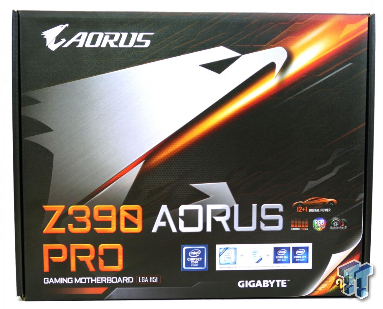 GIGABYTE Z390 Aorus Pro (Intel Z390) Motherboard Review