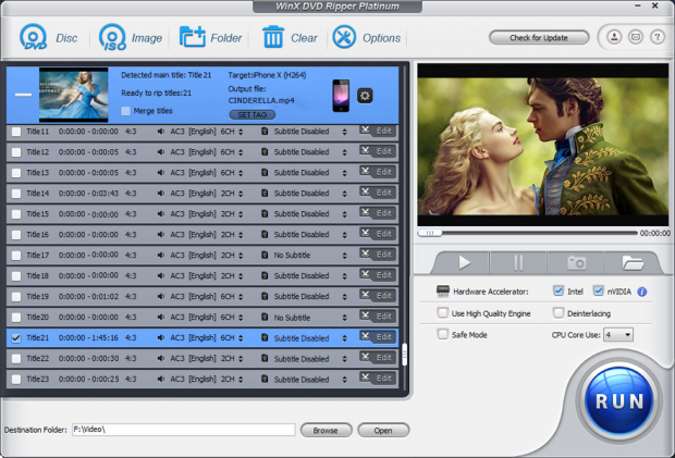 How to Convert DVD with Handbrake or WinX DVD Ripper
