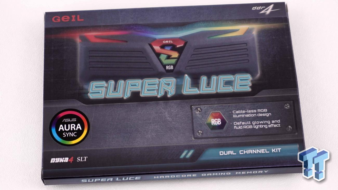 GeIL Super Luce RGB Sync DDR4-3200 16GB Memory Kit Review
