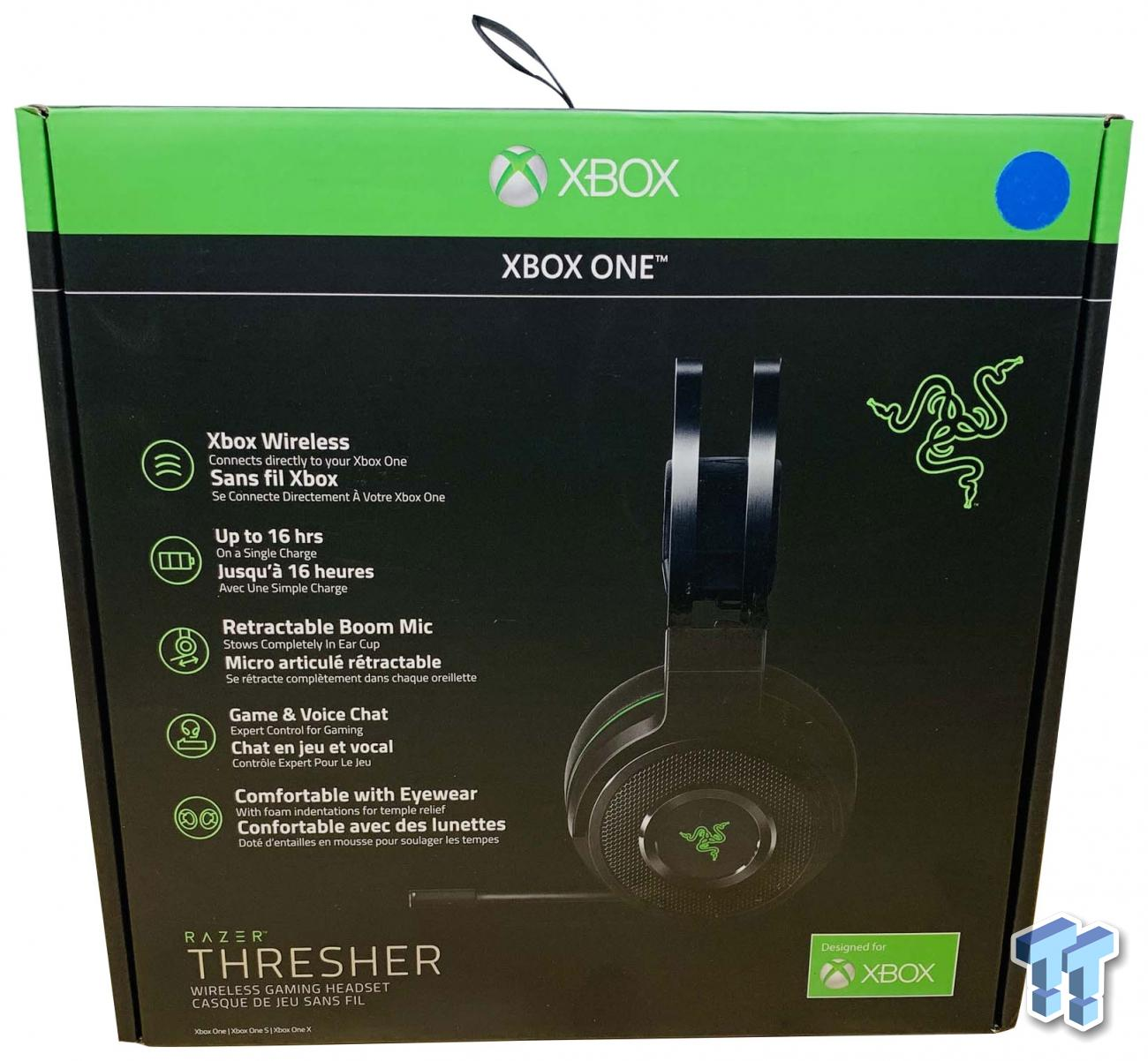Razer Thresher Wireless Headset For Xbox Review Tweaktown
