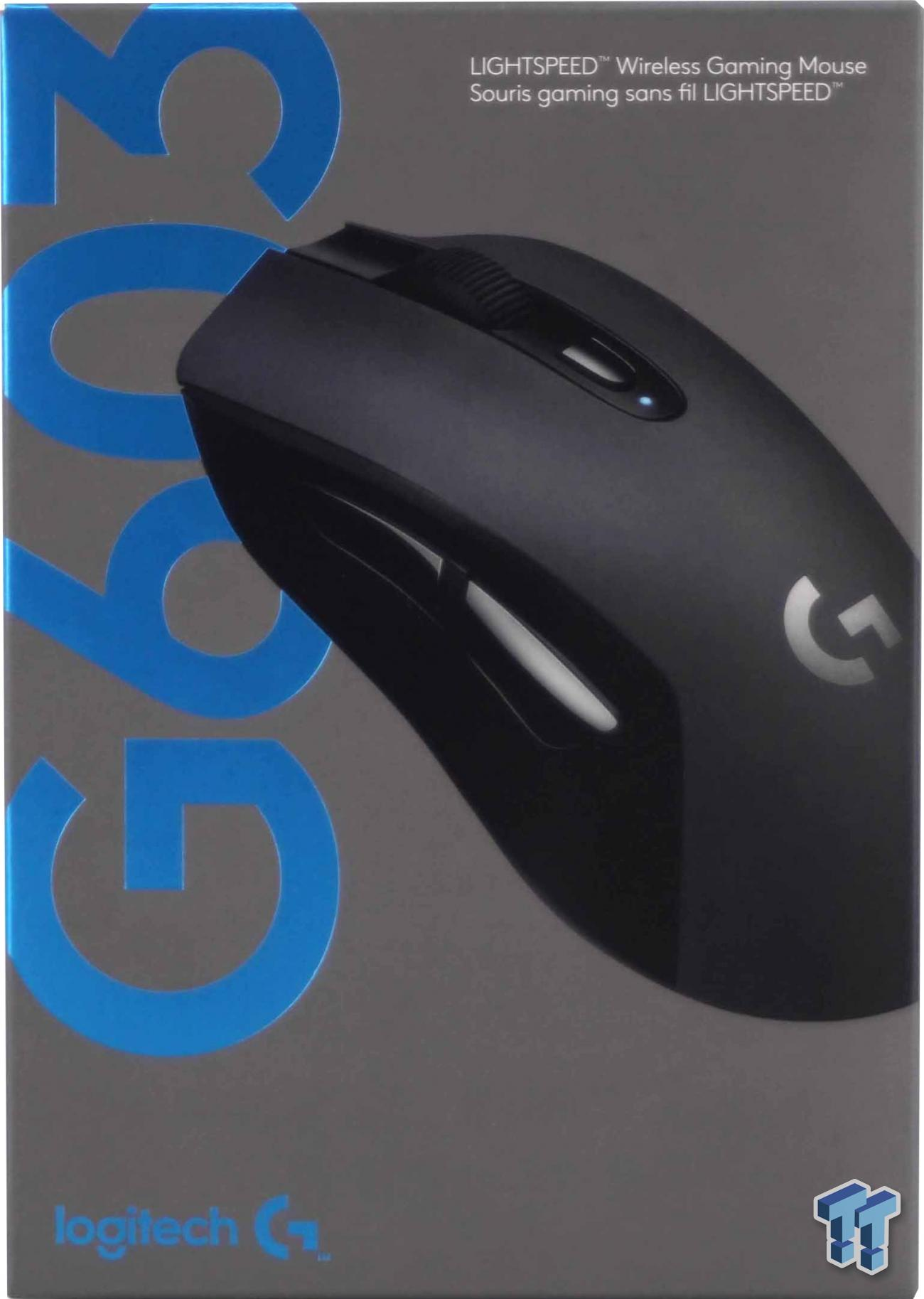 Logitech G603 Lightspeed Wireless Gaming Mouse Review