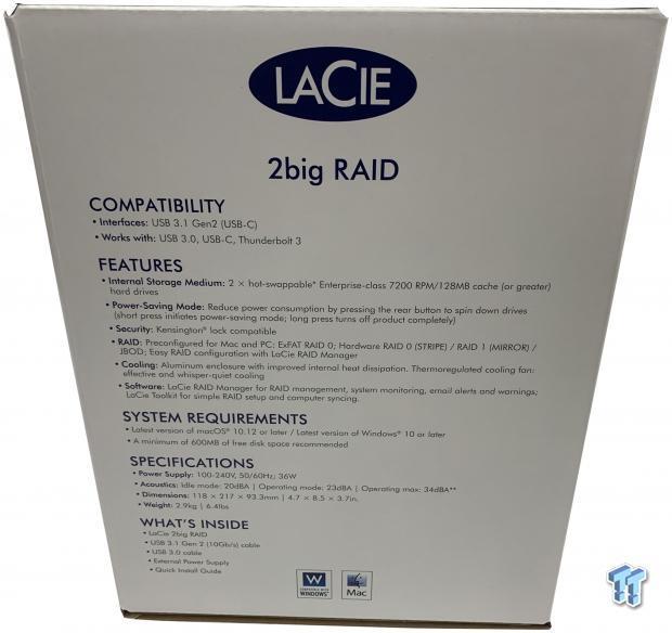Lacie 2big Raid Desktop Storage Review