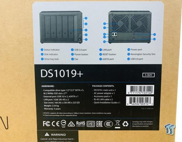 Synology DS1019+ NAS Review