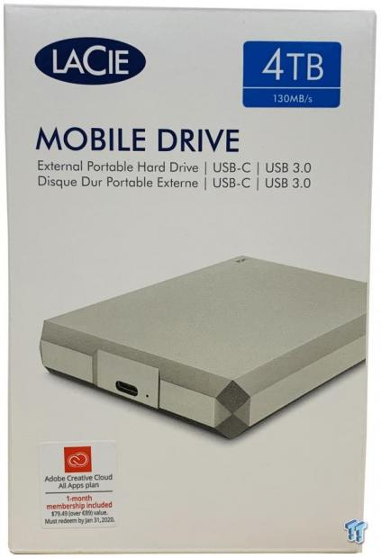 LaCie Mobile Drive 4TB Review