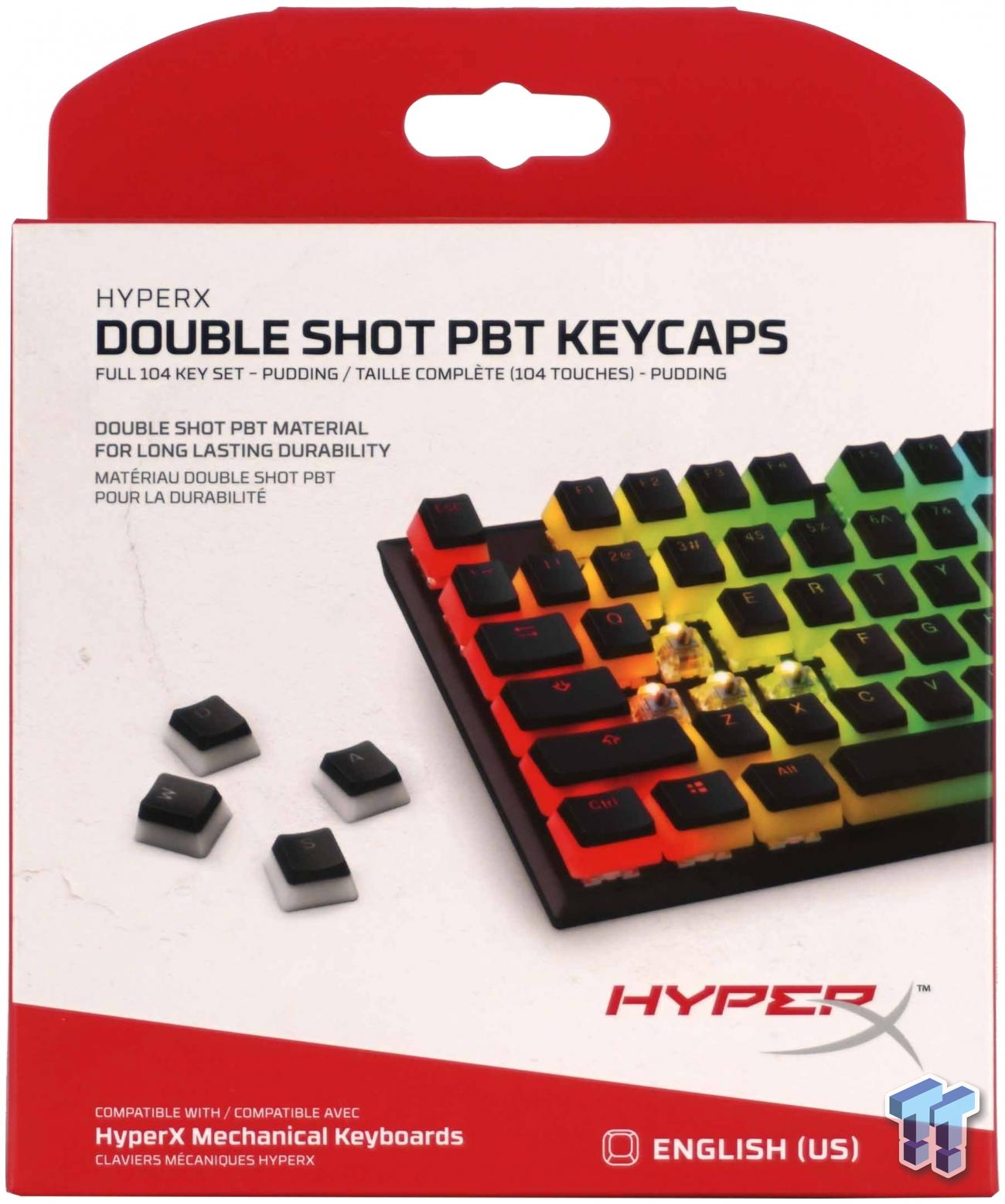 HyperX Double Shot PBT