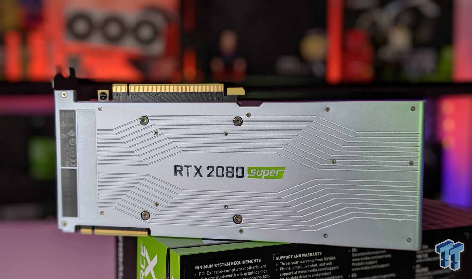 NVIDIA GeForce RTX 2080 SUPER in NVLink Benchmarked