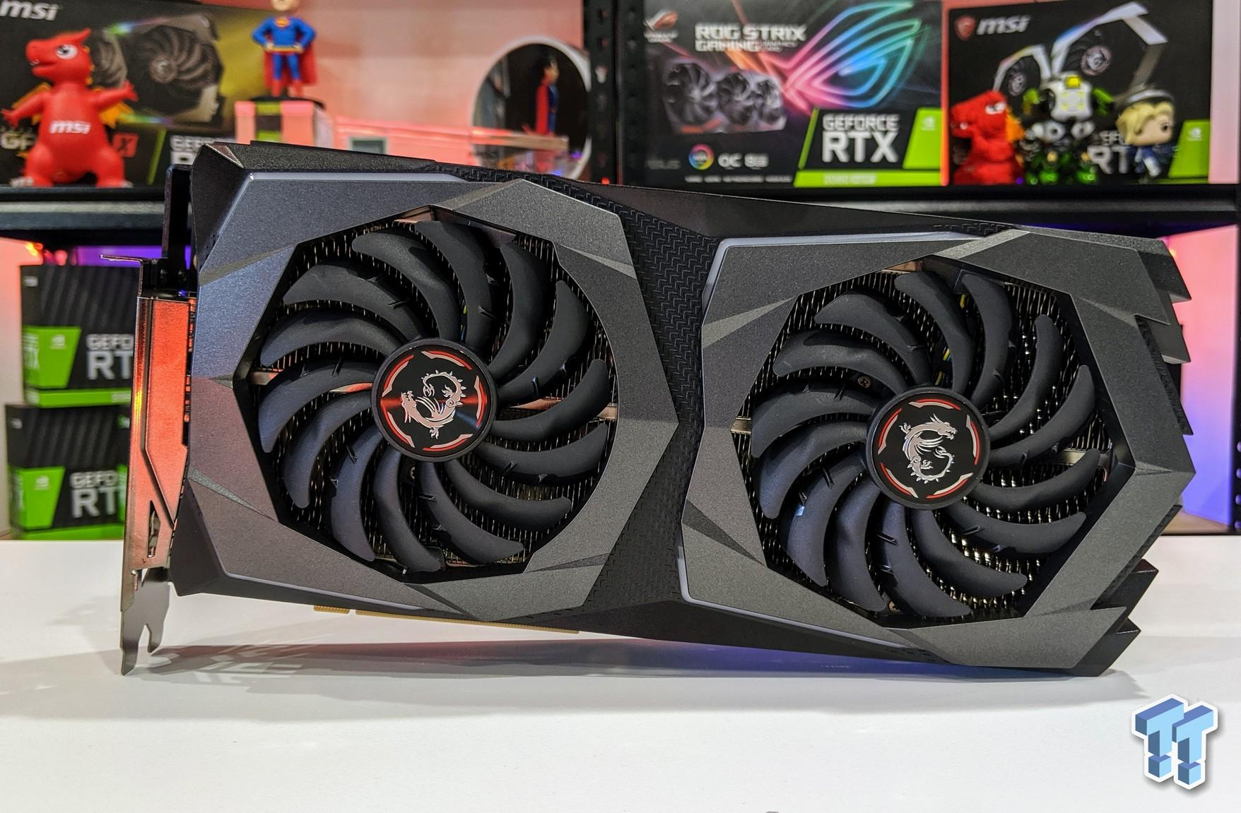 MSI GeForce RTX 2070 SUPER GAMING X Review