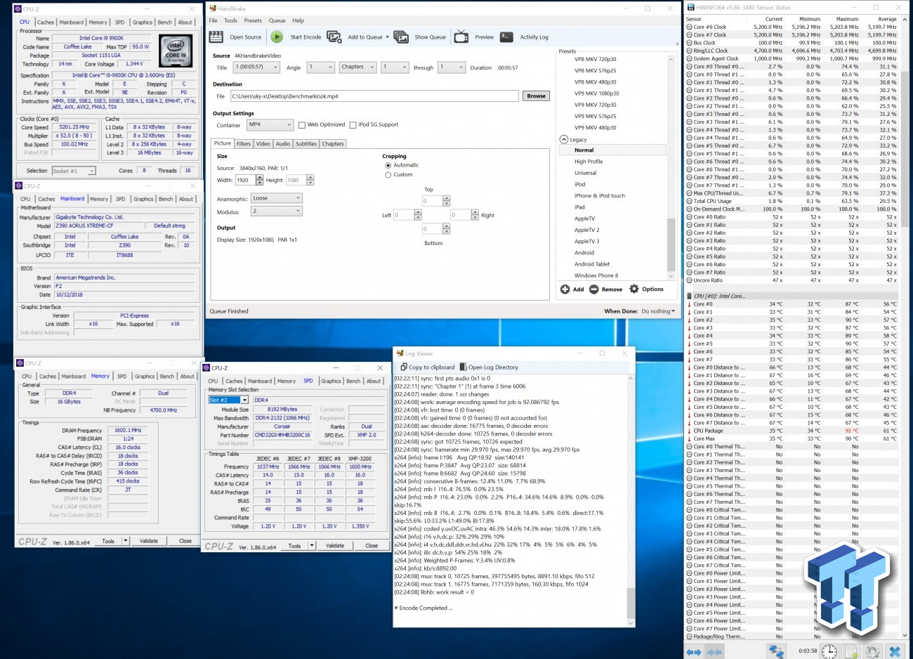 Intel Core I9 9900k Kf Overclocking Guide Tweaktown