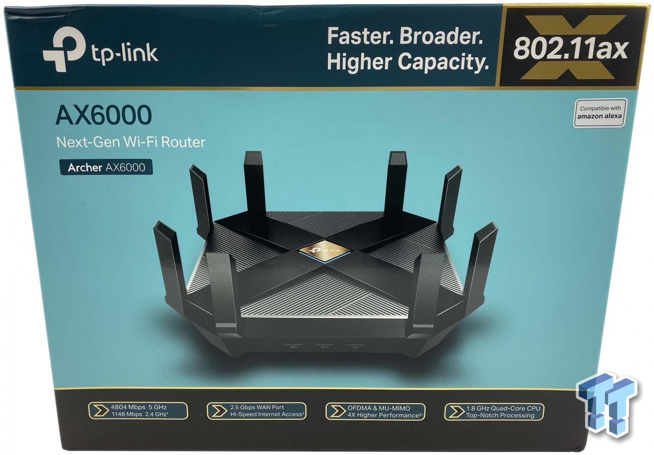 TP Link Archer AX6000 Wireless Router Review   TweakTown