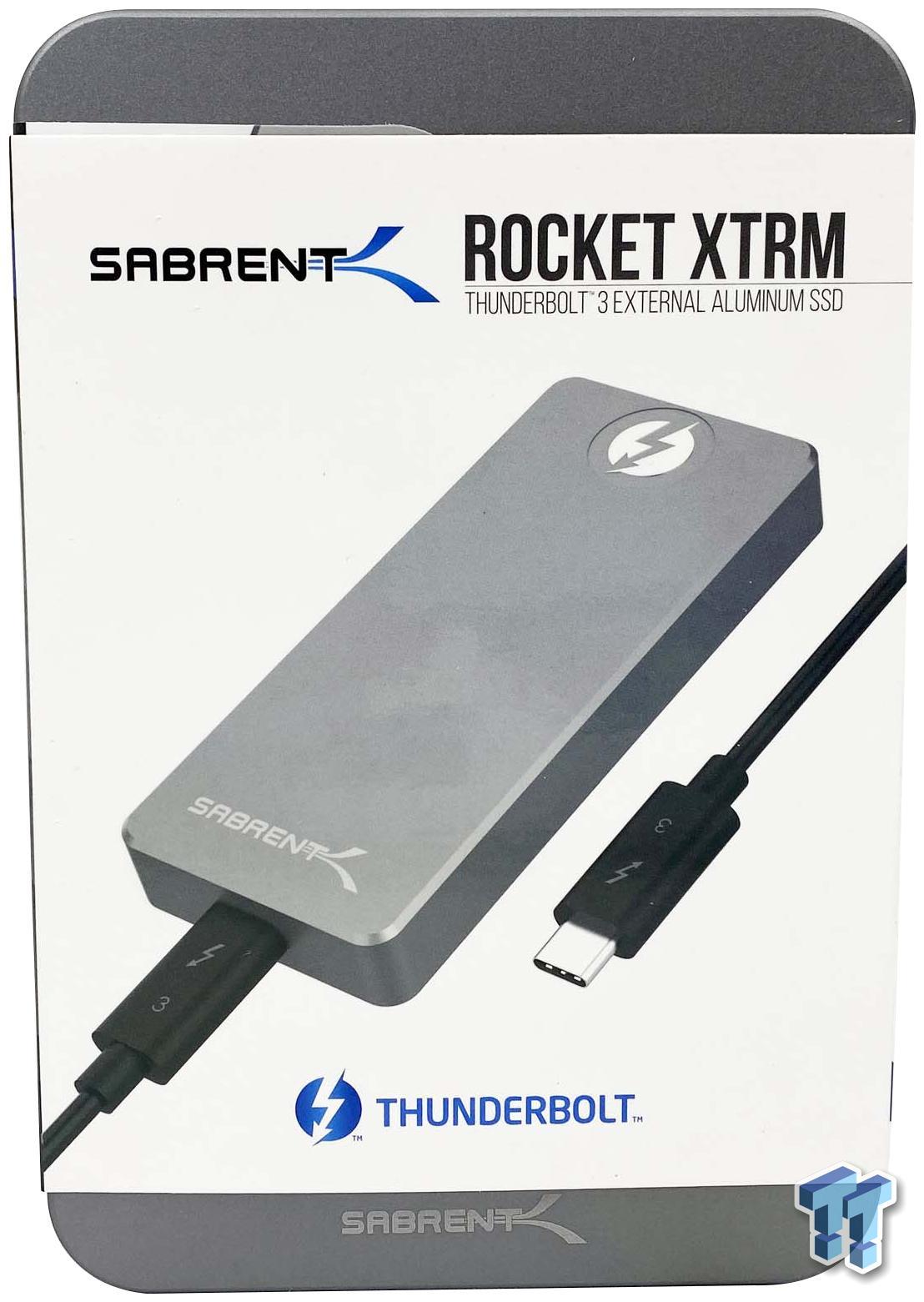 SB-XTRM-1TB Sabrent Rocket XTRM 1TB Thunderbolt 3 Externe SSD