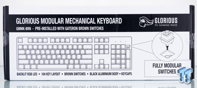 Glorious Modular Mechanical Gaming Keyboard - GMMK Review 02 | TweakTown.com