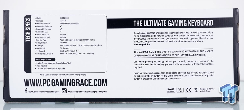 Glorious Modular Mechanical Gaming Keyboard - GMMK Review 07 | TweakTown.com